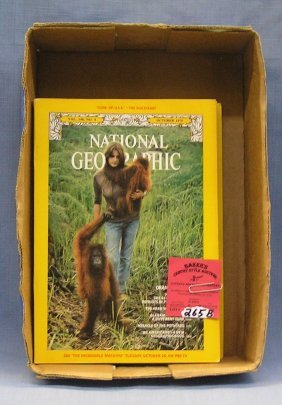 Vintage National Geographic Magazines