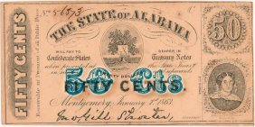 C.s.a. State Of Alabama 50 Cent Note