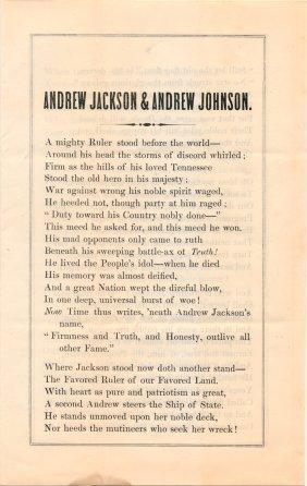 (pro-johnson Anti-impeachment Poem)