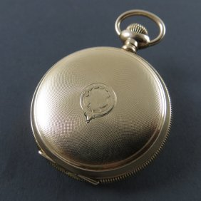 Waltham Lady's Gold Pocket Watch