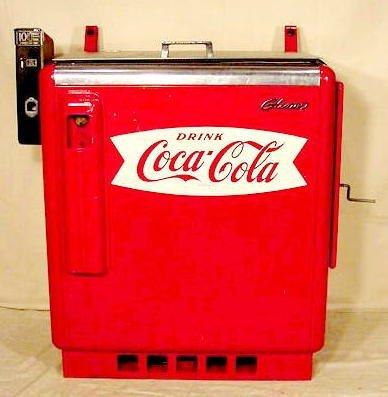 coke bottle vending machine