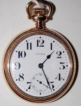 E. Howard Series 11 RR Chronometer Pocket Watch