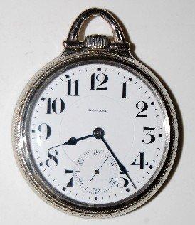 E.  Howard 23J 16S 14K GF Pocket Watch