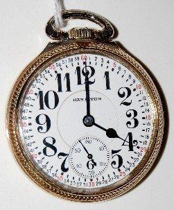 Hamilton 992  21J 16S Pocket Watch