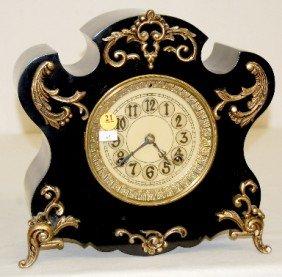 "New Haven ""Milan"" Iron Case Mantel Clock"