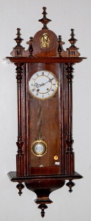 Lady Head RA Wall Clock