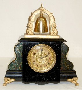 "Gilbert ""Curfew"" Bell Top Mantel Clock"