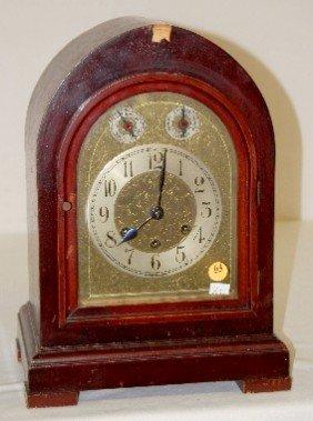 Gustav Becker 5 Bar Chiming Mantel Clock