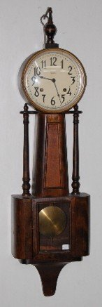 Ingraham Nile Banjo Clock