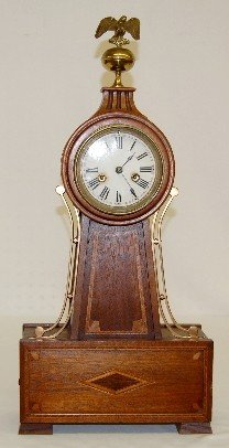 "Waterbury ""Willard No. 10"" Mantel Banjo Clock"