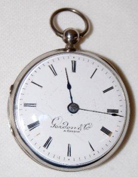 Gordon & Cie A Geneve Fusee Pocket Watch
