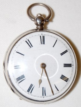 Tho. Morifson No. 3486 Fusee Pocket Watch