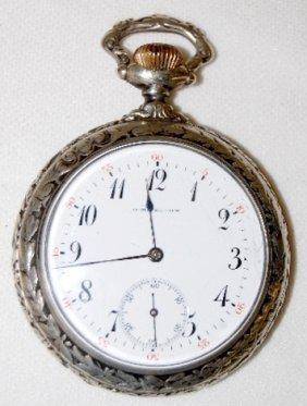 O.M. Nelson, Madison Wis., 15J, 16S Pocket Watch