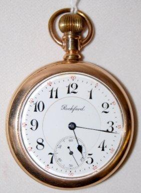 Rockford 545, 21J, 16S, LS, OF Pocket Watch
