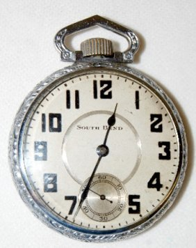 South Bend 211, 17J, 16S, OF Pocket Watch