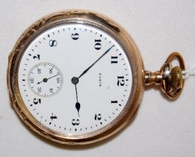 Elgin 15J, 16S, SW & S, OF Pocket Watch