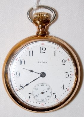Elgin 7J, 19S, SW & S, SF & B, OF Pocket Watch