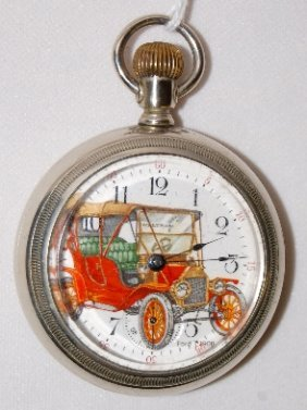 Sterling 7J, 18S, SF & B, OF Pocket Watch