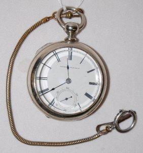 National W. Co. 11J, 18S, OF Pocket Watch