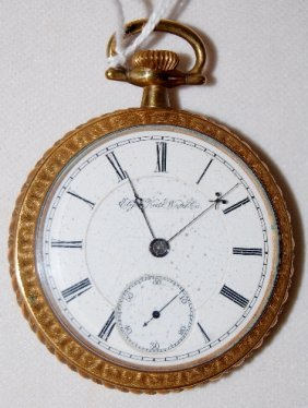 Elgin 17J, BW Raymond, 18S, OF Pocket Watch