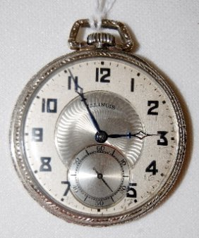 Illinois 21J, A. Lincoln, 12/13S, Pocket Watch