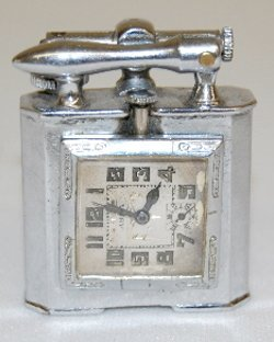 Geneva Swiss Abra Watch Co. Watch/Lighter