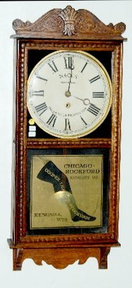 Gilbert Advertising Hosiery Wall Clock