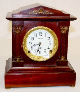 Seth Thomas Fancy Small Mantel Clock
