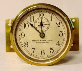 Stewart Car Clock By Phinney Walker NR