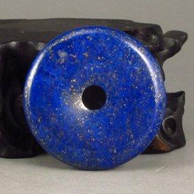 17 G Chinese Natural Lapis Lazuli Lucky Pendant