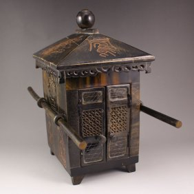 Chinese Bone Palanquin Model