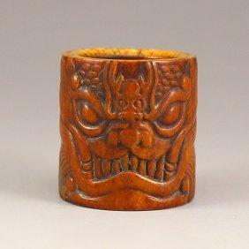 Chinese Deer Bone Ring