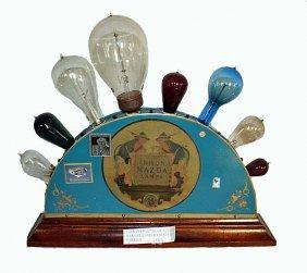 Edison/mazda Lamp Display
