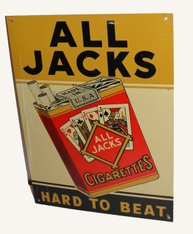 All Jacks Advertising Sign