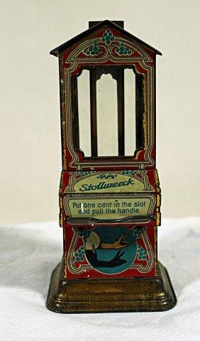 Miniature Stollwerck Candy Vendor