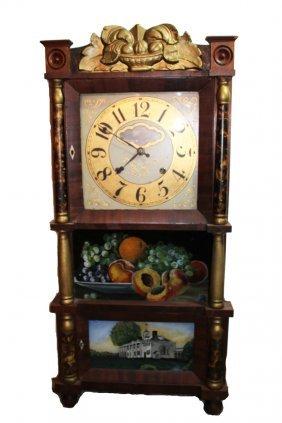 Triple Deck Clock