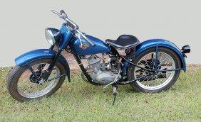 1952 Harley Davidson Motorcycle