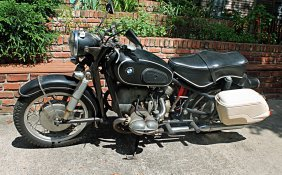 1956 Bmw Motorcycle
