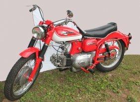 1965 Hd Motorcycle
