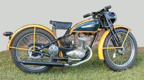 1948 Hd Motorcycle