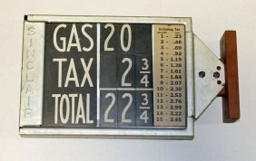 Gas Price Card