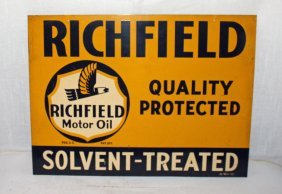 Richfield Motor Oil Sign