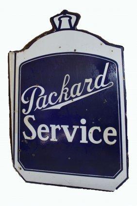 Packard Service Sign