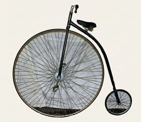 Hi Wheel Bike