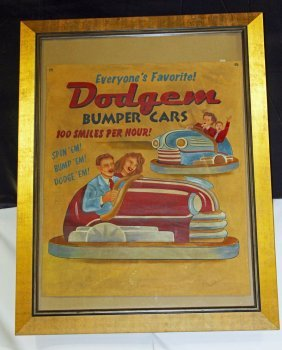 Dodgem Car Poster