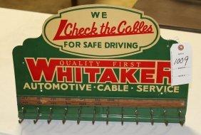 Display Rack Whitaker Automotive