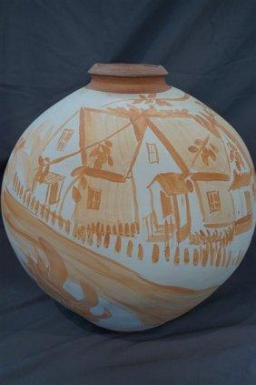 James Jackson Burt ( American, 20th Century) Terracotta