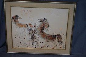 Reuven Rubin (1893-1974) Lithograph Print