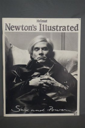 Helmut Newton's Illustrated No.1 Andy Warhol