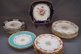 English Fine Porcelain China Group